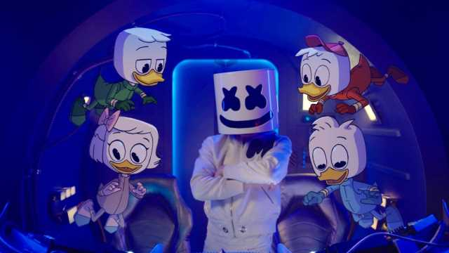 Marshmello Teases DUCKTALES-Inspired Music Video For New