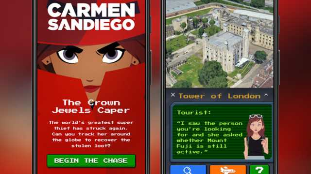 CARMEN SANDIEGO Game, The Crown Jewels Caper, Launches In Google Maps