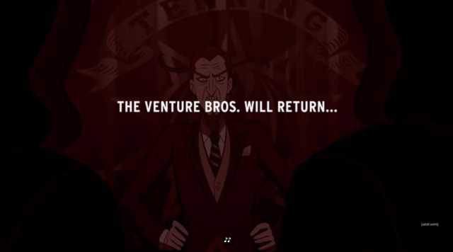THE VENTURE BROS. Canceled After 17 Years And 7 Seasons