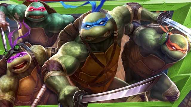 TEENAGE MUTANT NINJA TURTLES: Leonardo, Donatallo, Raphael, & Michelangelo Join SMITE As Character Skins