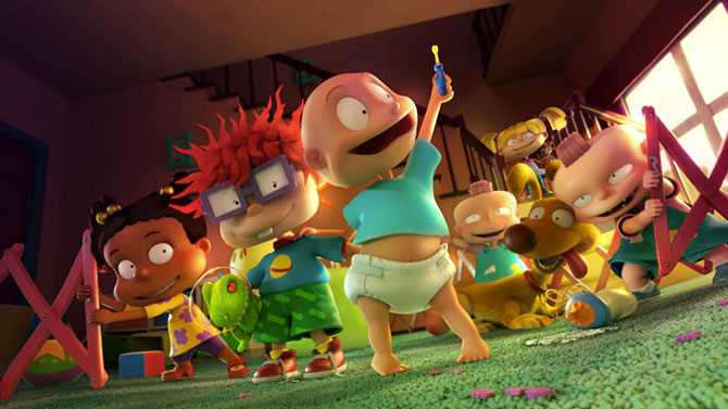 RUGRATS Coming To Paramount+ This Spring; Check Out The First Clip Of Nickelodeon's CG-Animated Reboot