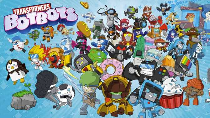 TRANSFORMERS: BOTBOTS Animated Comedy Series Ordered By Netflix