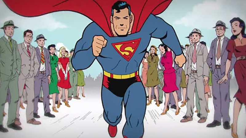 SUPERMAN Flashback: Go Behind-The-Scenes On The Making Of The 75th Anniversary Animated Short