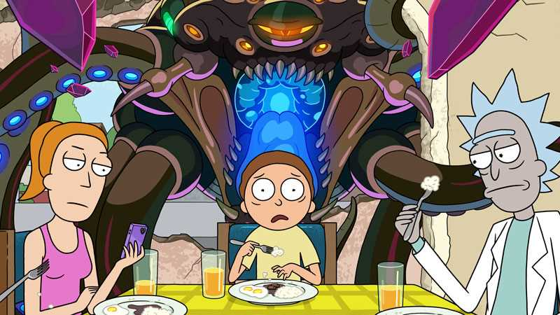 RICK AND MORTY Season 5 Premiere Date Revealed + New Trailer!
