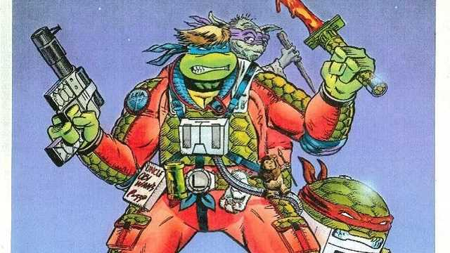 TEENAGE MUTANT NINJA TURTLES: See The Concept Designs From The STAR WARS Crossover That Never Happened