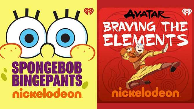 Nickelodeon Announces New Podcasts Based On SPONGEBOB SQUAREPANTS And AVATAR: THE LAST AIRBENDER