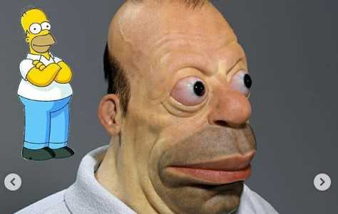 Artist Creates Nightmarish Renditions Of Cartoon Characters In Real Life