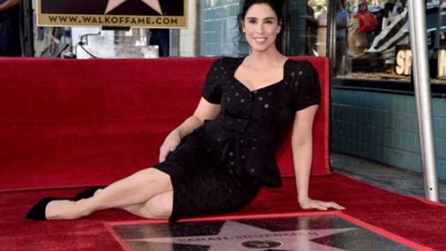 Ralph Breaks The Internet Actress Sarah Silverman Receives Star On The Hollywood Walk Of Fame